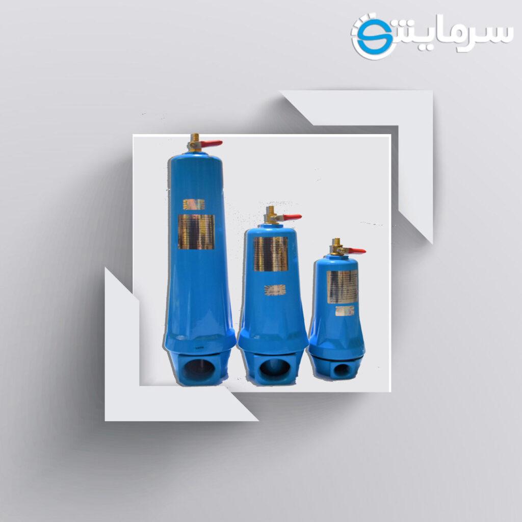 فیلتراسیون کمپرسور-مشخصات فیلتراسیون کمپرسور-رطوبتگیرکمپرسور