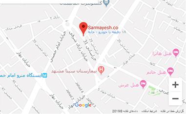 ایران پمپ روی نقشه گوگل