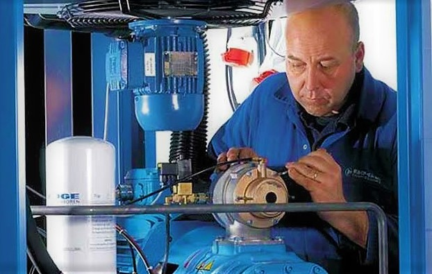 تعمیر انواع کمپرسور اسکرو