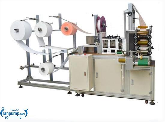 دستگاه نیمه صنعتی تولید ماسک