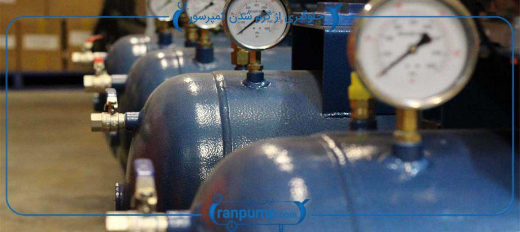 نکاتی برای جلوگیری از گرم شدن بیش از حد کمپرسور هوا